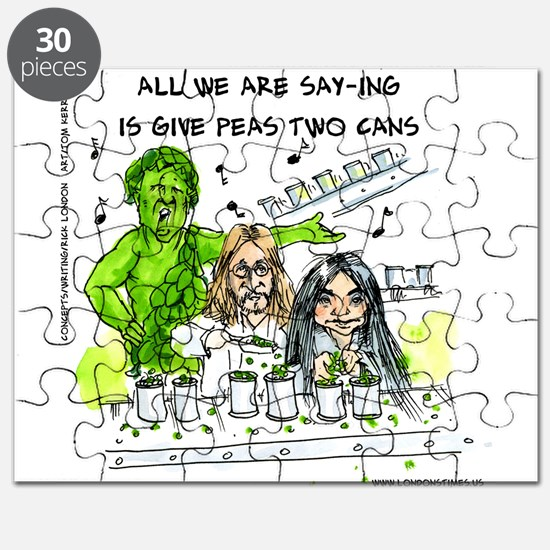 Give Peas 2 Cans Puzzle