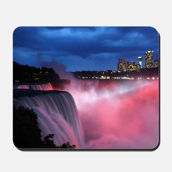 Niagara Falls at Night Mousepad
