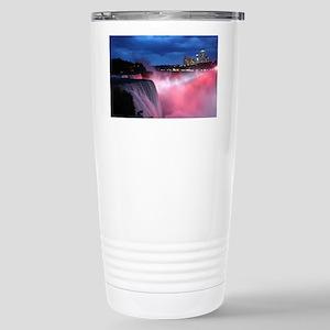 Niagara Falls at Night Stainless Steel Travel Mug