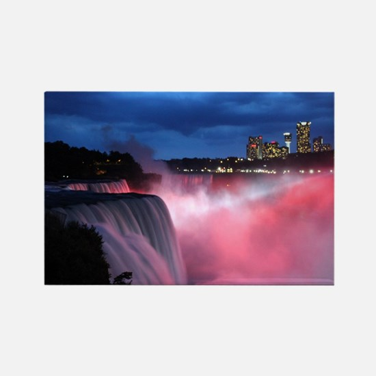 Niagara Falls at Night Rectangle Magnet