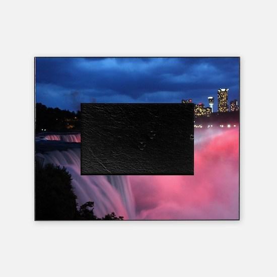 Niagara Falls at Night Picture Frame