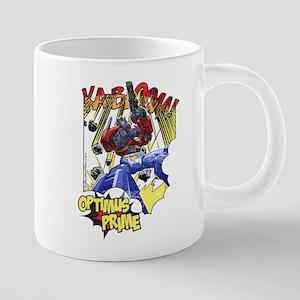 Optimus Pime Action Mugs