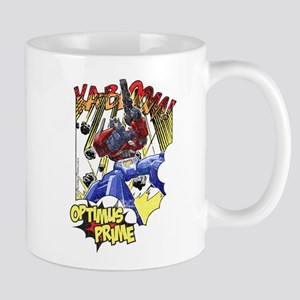 Optimus Pime Action Mugs