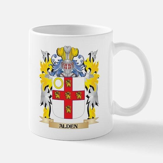 Alden Coat of Arms - Family Crest Mugs