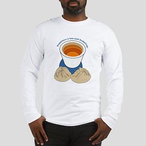 Tea and Dumplings Long Sleeve T-Shirt