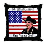 Kinky 2008! Throw Pillow