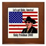 Kinky 2008! Framed Tile