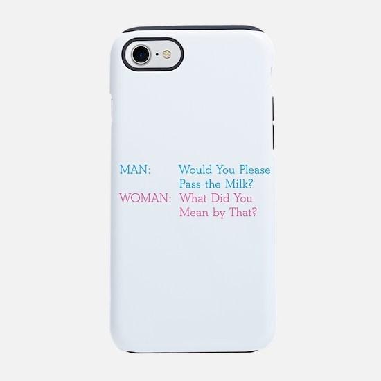 Pass the Milk iPhone 7 Tough Case