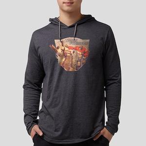 Optimus Prime and Megatron Symbol Mens Hooded Shir
