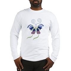 Japanese Butterfly Long Sleeve T-Shirt