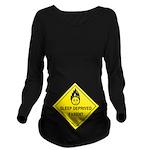Sleep Deprived Parent Long Sleeve Maternity T-Shir