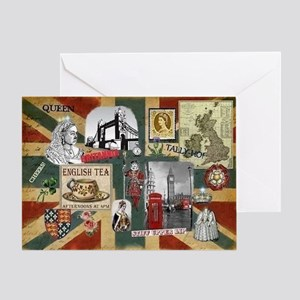 Anglophile's Greeting Card