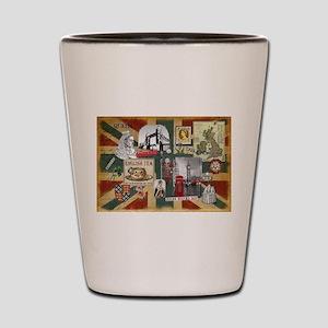 Anglophile's Shot Glass