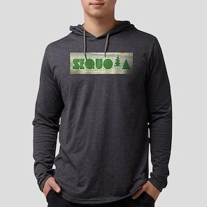 Sequoia National Park Mens Hooded Shirt