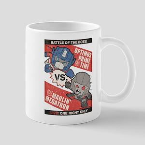 Optimus Prime vs Megatron Mugs
