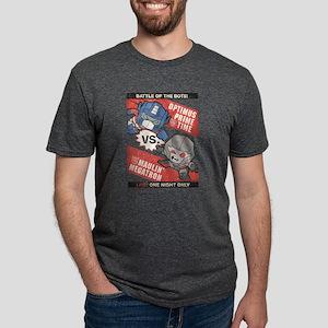 Optimus Prime vs Megatron Mens Tri-blend T-Shirt