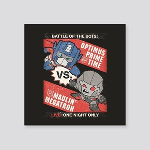 Optimus Prime vs Megatron Sticker