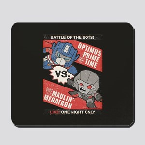 Optimus Prime vs Megatron Mousepad
