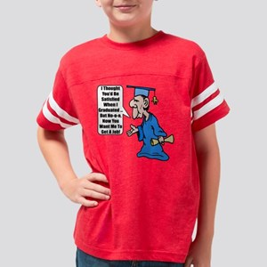 graduation tshirts36 Youth Football Shirt