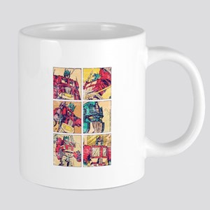 Optimus Prime Comic Mugs