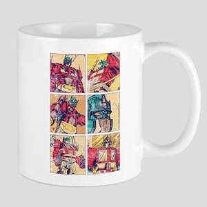 Optimus Prime Comic Mugs