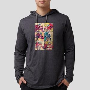 Optimus Prime Comic Mens Hooded Shirt