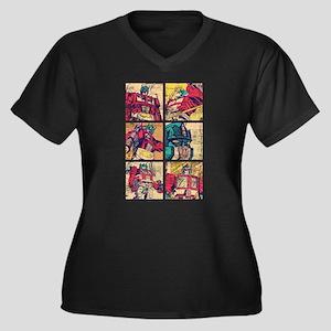 Optimus Prime Comic Plus Size T-Shirt