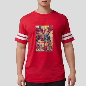 Optimus Prime Comic Mens Football Shirt