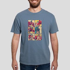 Optimus Prime Comic Mens Comfort Colors Shirt