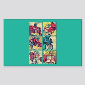 Optimus Prime Comic Sticker