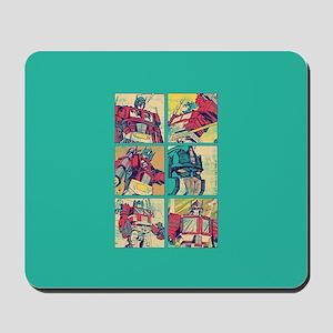 Optimus Prime Comic Mousepad