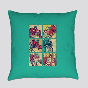 Optimus Prime Comic Everyday Pillow