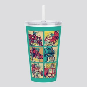 Optimus Prime Comic Acrylic Double-wall Tumbler