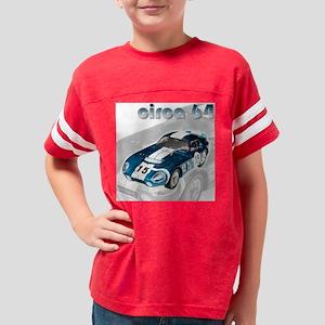 Shelby Cobra Shirt Design Youth Football Shirt