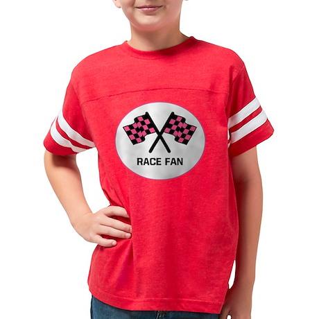 racefan-pink-dark Youth Football Shirt