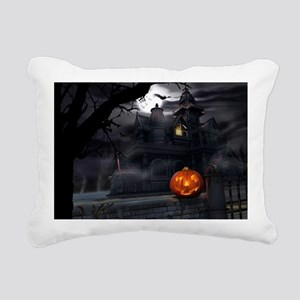 Happy Halloween Rectangular Canvas Pillow