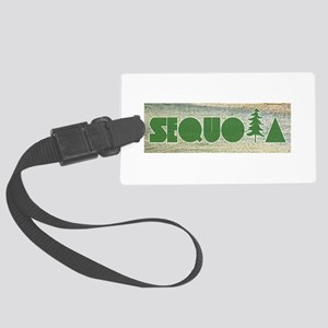 Sequoia National Park Large Luggage Tag
