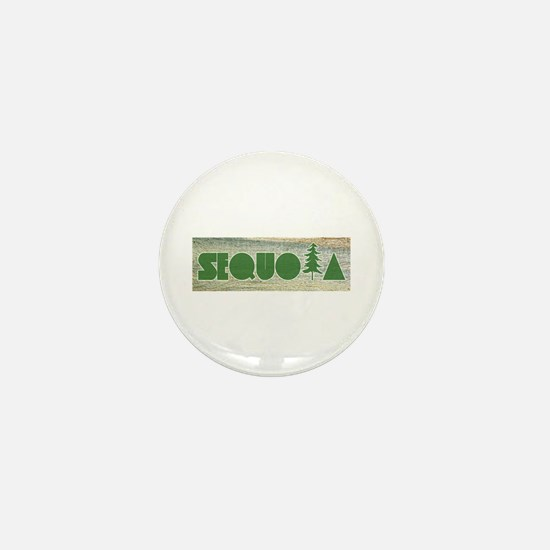 Sequoia National Park Mini Button