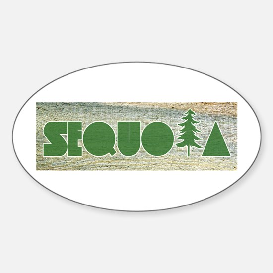 Sequoia National Park Decal