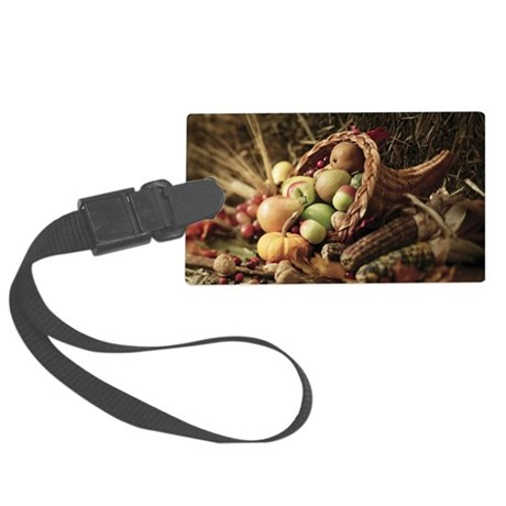 A bountiful harvest Large Luggage Tag