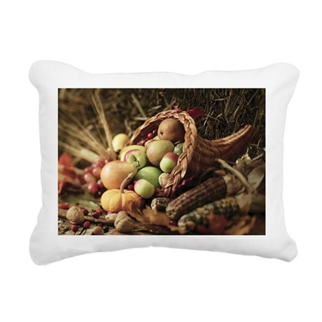 A bountiful harvest Rectangular Canvas Pillow