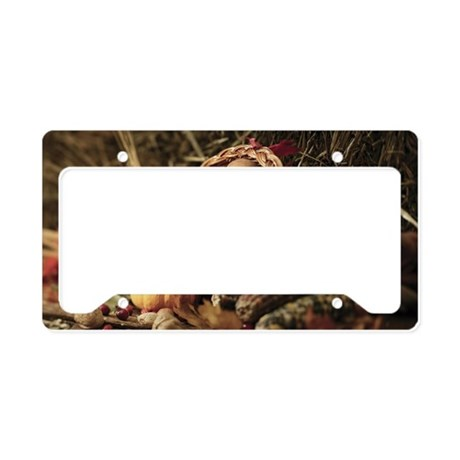 A bountiful harvest License Plate Holder