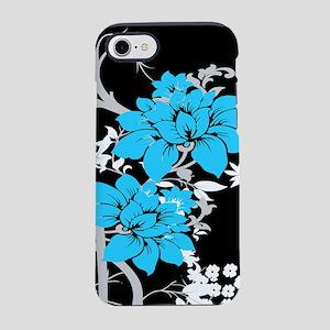 Modern floral iPhone 7 Tough Case