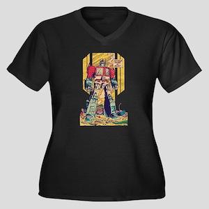 Optimus Prime Plus Size T-Shirt