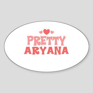 Aryana Oval Sticker