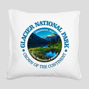 Glacier NP Square Canvas Pillow