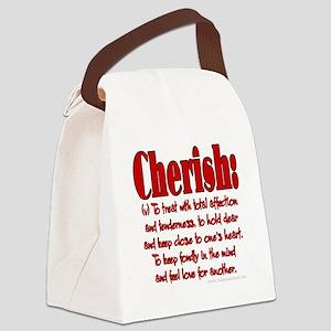 Cherish Canvas Lunch Bag