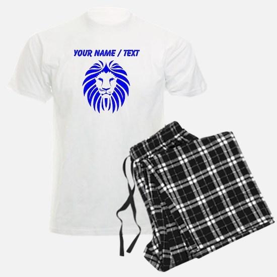 Custom Blue Lion Mane pajamas