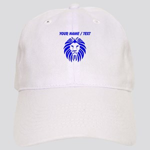 Custom Blue Lion Mane Cap