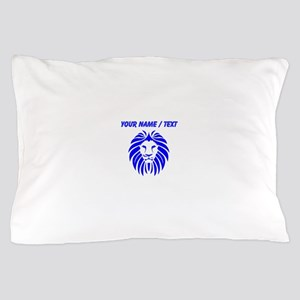 Custom Blue Lion Mane Pillow Case